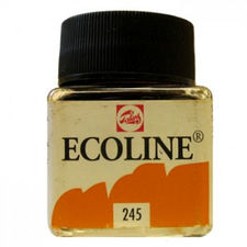 Talens Ecoline Farba Akwarel Płynna 245 YellowSaff