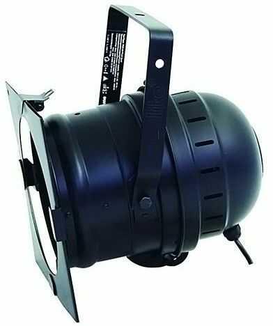 Eurolite PAR-64 PROFI SPOT SHORT black, reflektor sceniczny