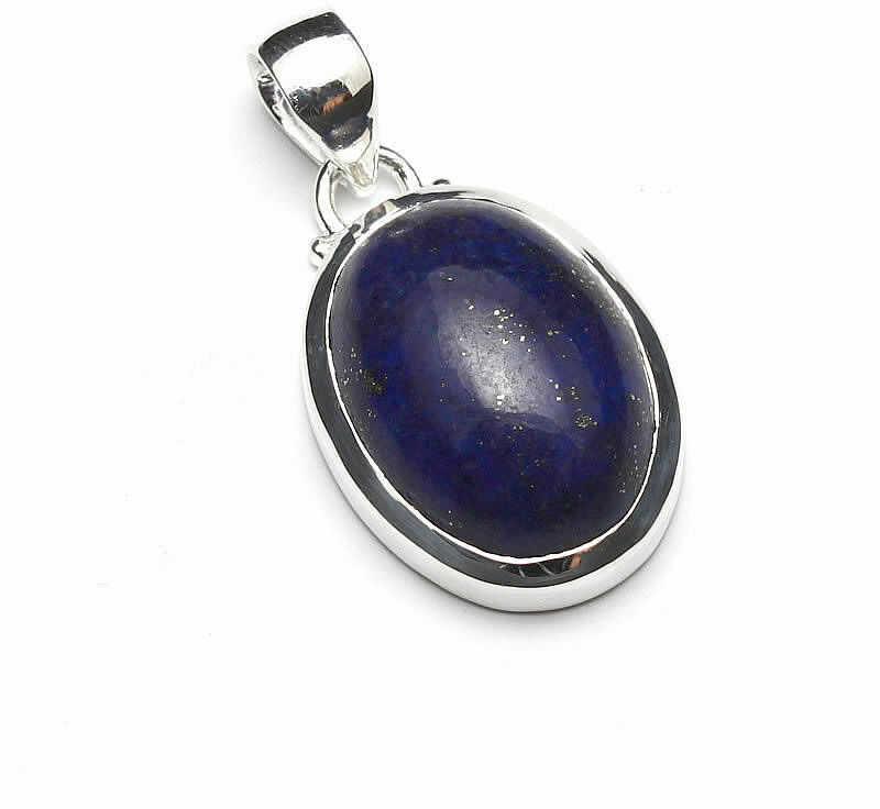 Kuźnia Srebra - Zawieszka srebrna, 33mm, Lapis Lazuli, 8g, model
