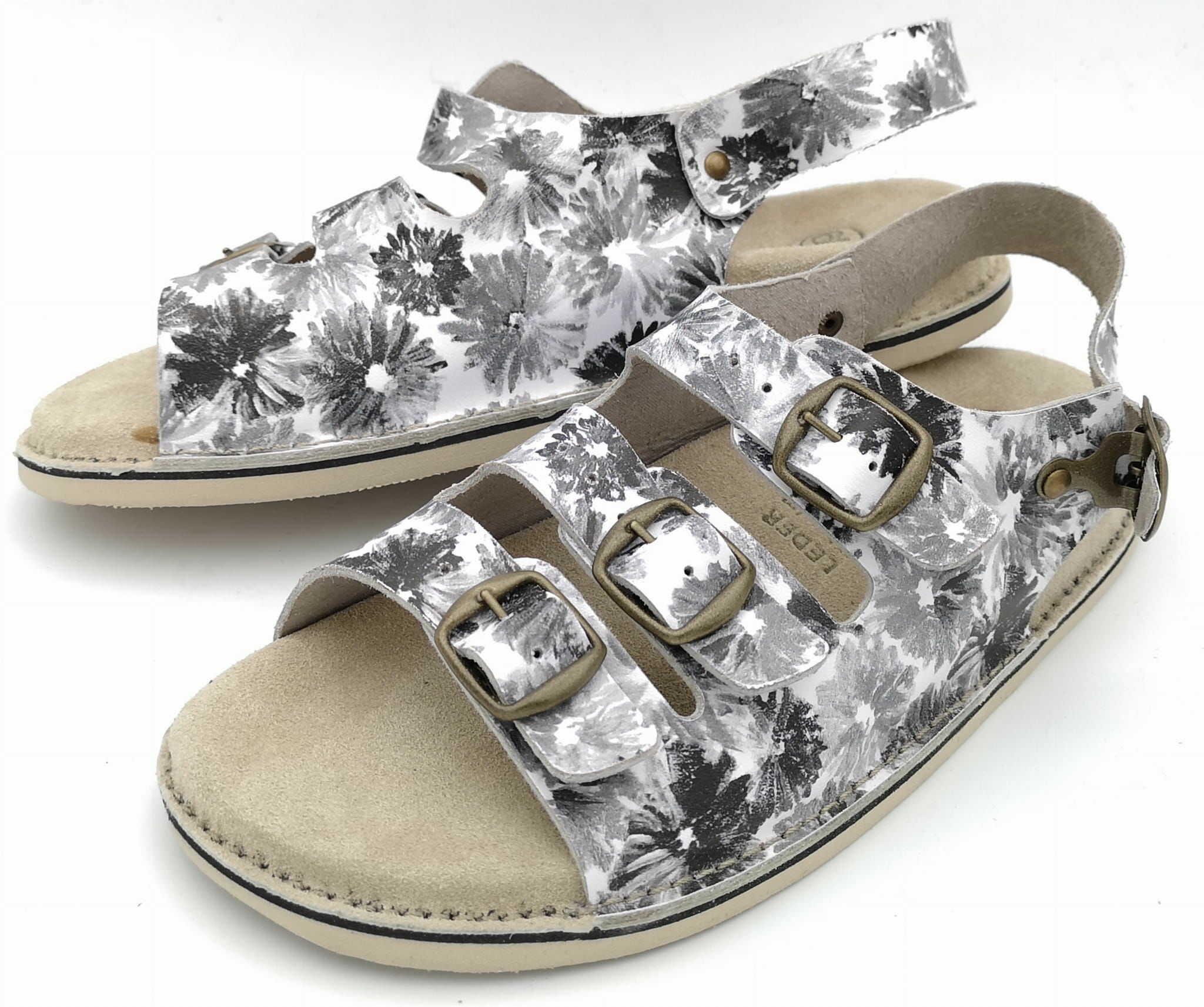 AA1 Fusbet sandały skórzane