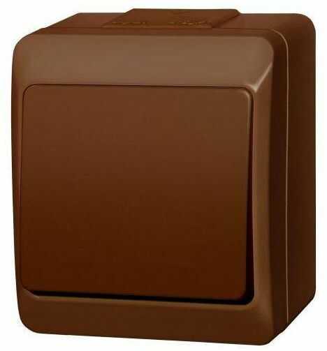 Włącznik schodowy HERMES Brązowy ELEKTRO-PLAST