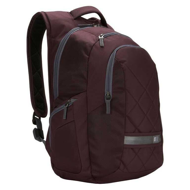Plecak na laptopa do 16 cali - CaseLogic DLBP116P Purpurowy - WYSYŁKA W 24H