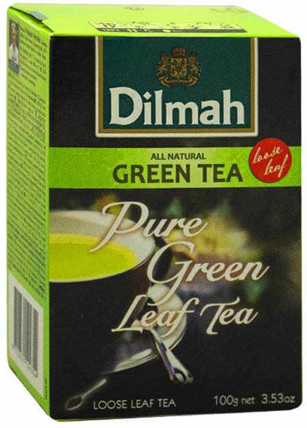 Dilmah Pure Green 100 g liściasta