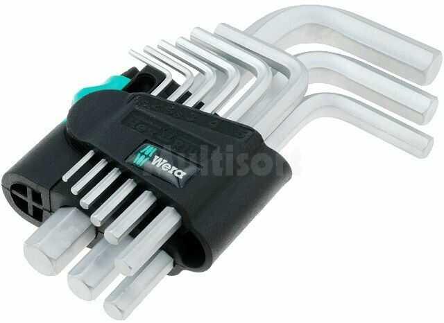 Zestaw kluczy imbusowych WERA 950/9SM Hex-Plus 9szt.