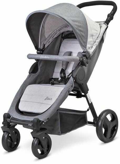 Caretero wózek spacerowy four graphite
