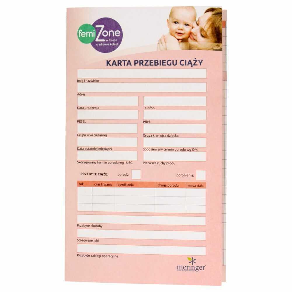 Karta ciąży MAMA CARD