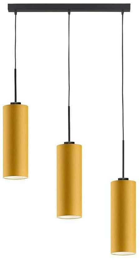Regulowana lampa wisząca z czarnym stelażem - EX384-Bornex - 18 kolorów