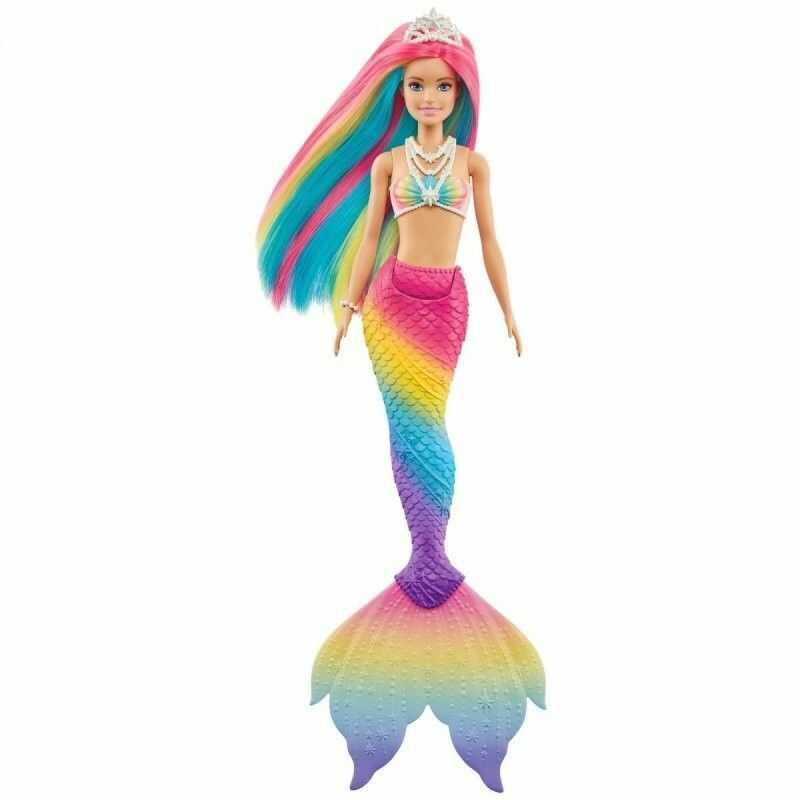 Barbie Dreamtopia Tęczowa Syrenka GTF89
