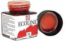 Talens Ecoline Farba Akwarel Płynna 334 Scarlet