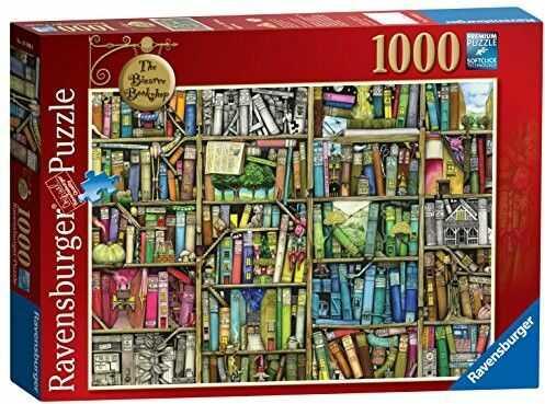 Puzzle Ravensburger 1000 - Niezwykła księgarnia, The Bizarre Bookshop
