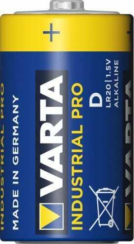 1 x Varta Industrial LR20/D LUZ