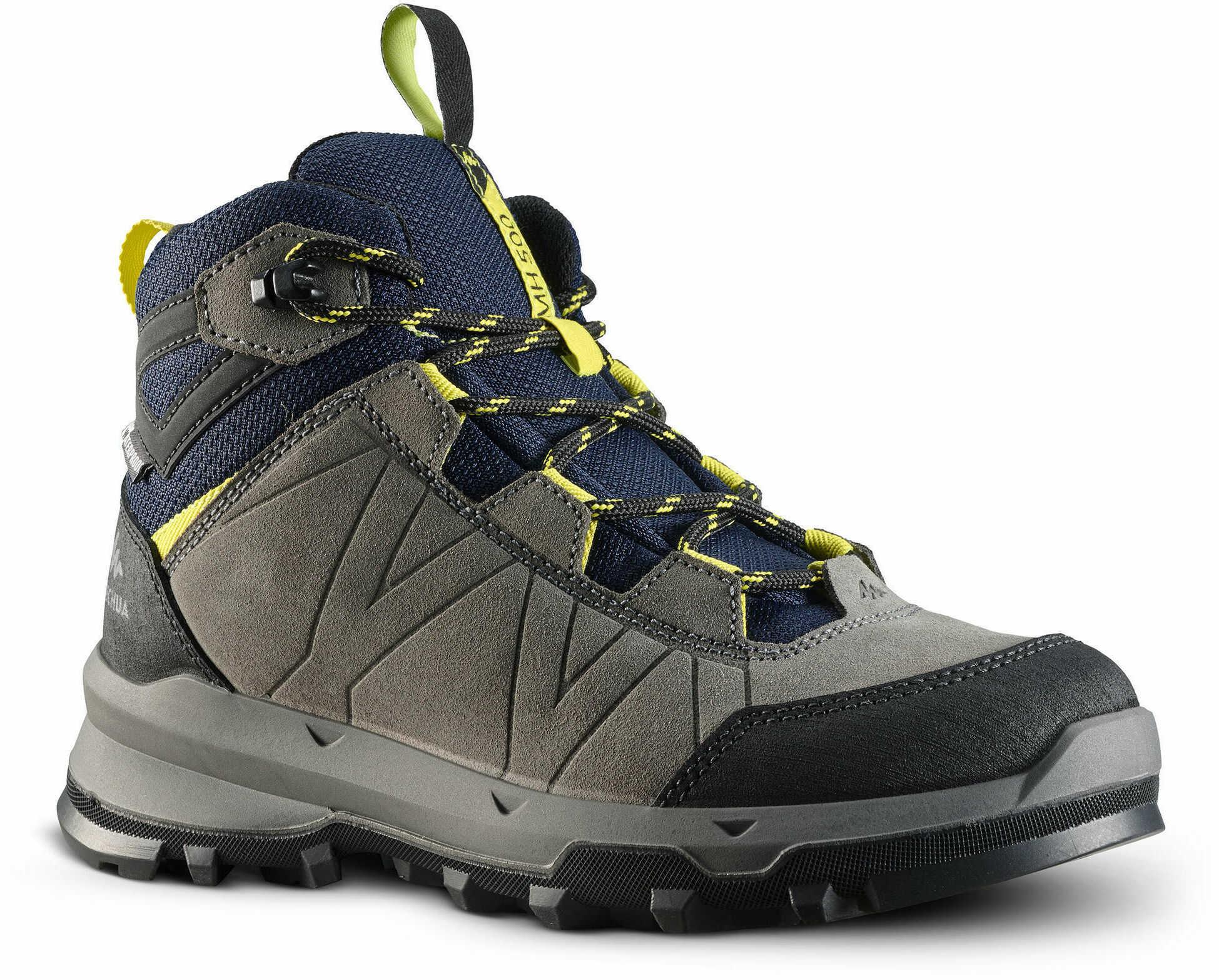 Buty turystyczne dla dzieci Quechua MH500 wodoodporne