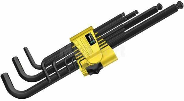 Zestaw kluczy imbusowych WERA 950PKL/9SZ 9szt.