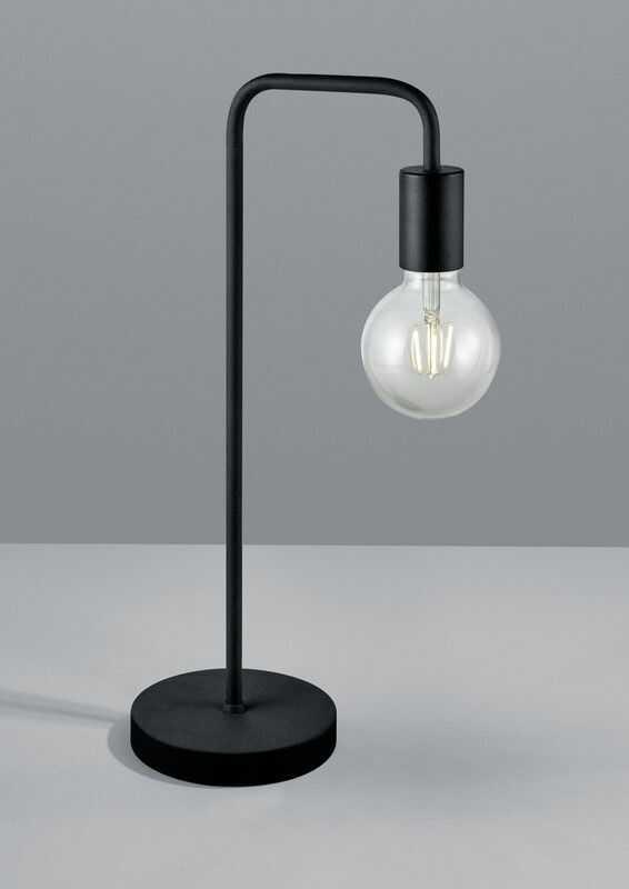Diallo lampa stołowa 1-punktowa czarna 508000132