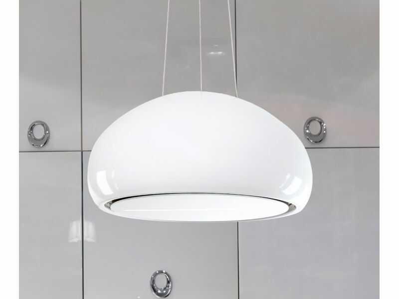 Okap wyspowy Ceramic White 60 cm