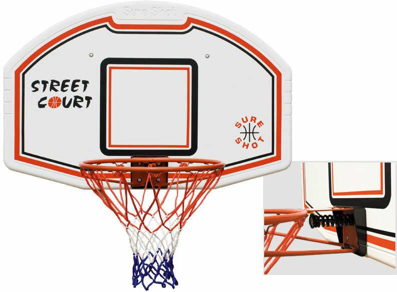Midi koszykówka SBB Bronx z obręczą uchylną