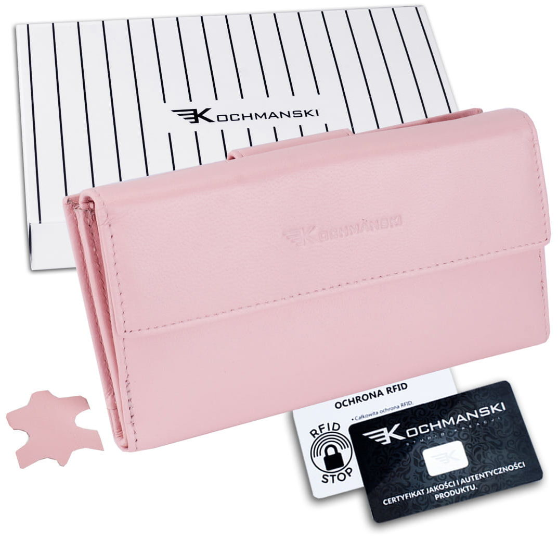 KOCHMANSKI portfel damski skórzany XXL 4383