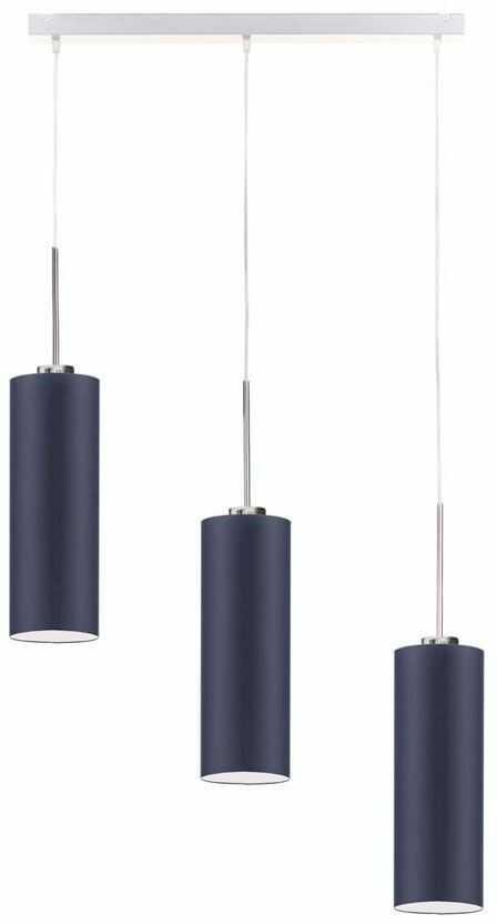 Lampa wisząca potrójna na stalowym stelażu - EX387-Bornex - 18 kolorów