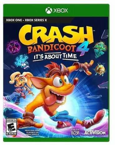 Crash Bandicoot 4: It''s about time XONE Używana