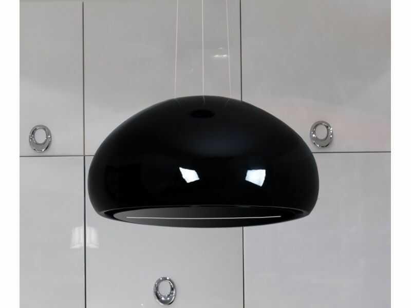Okap wyspowy Ceramic Black 60 cm