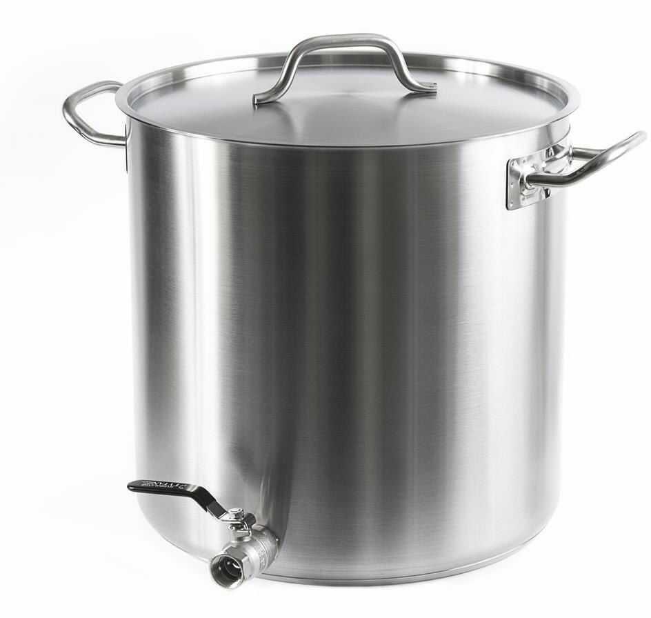 Garnek z kranem 35 L - do gotowania ziemiaków grube dno indukcja, gaz, płyta