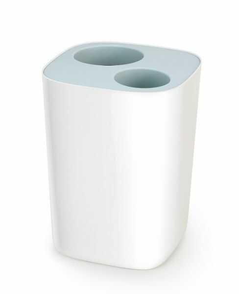 Joseph Joseph SPLIT Kosz Łazienkowy do Segregacji Odpadów - Biały