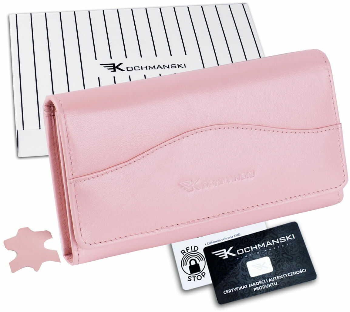 KOCHMANSKI portfel damski skórzany RFID 4385