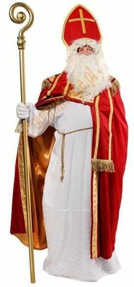 Strój świętego Mikołaja biskupa (strój prawdziwego Mikołaja) - model deluxe