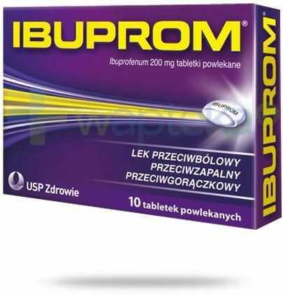Ibuprom 200mg 10 tabletek