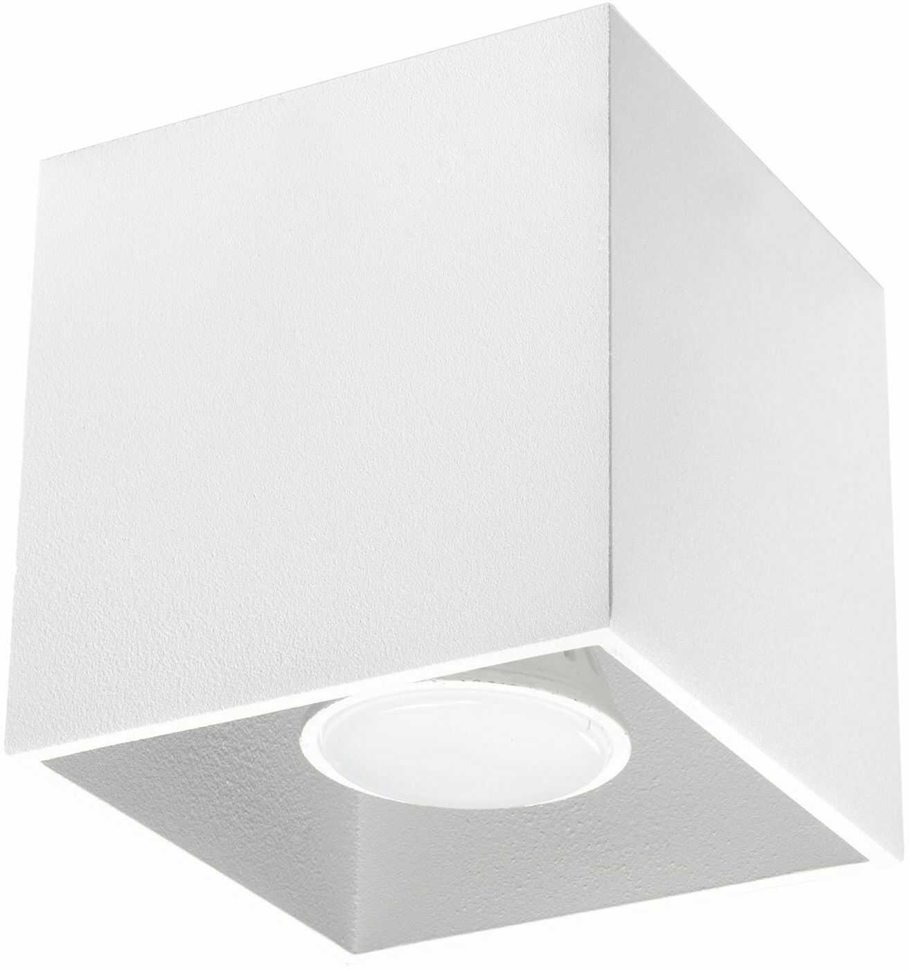 Oprawa sufitowa QUAD 1 biały SL.0027 - Sollux  Sprawdź kupony i rabaty w koszyku  Zamów tel  533-810-034