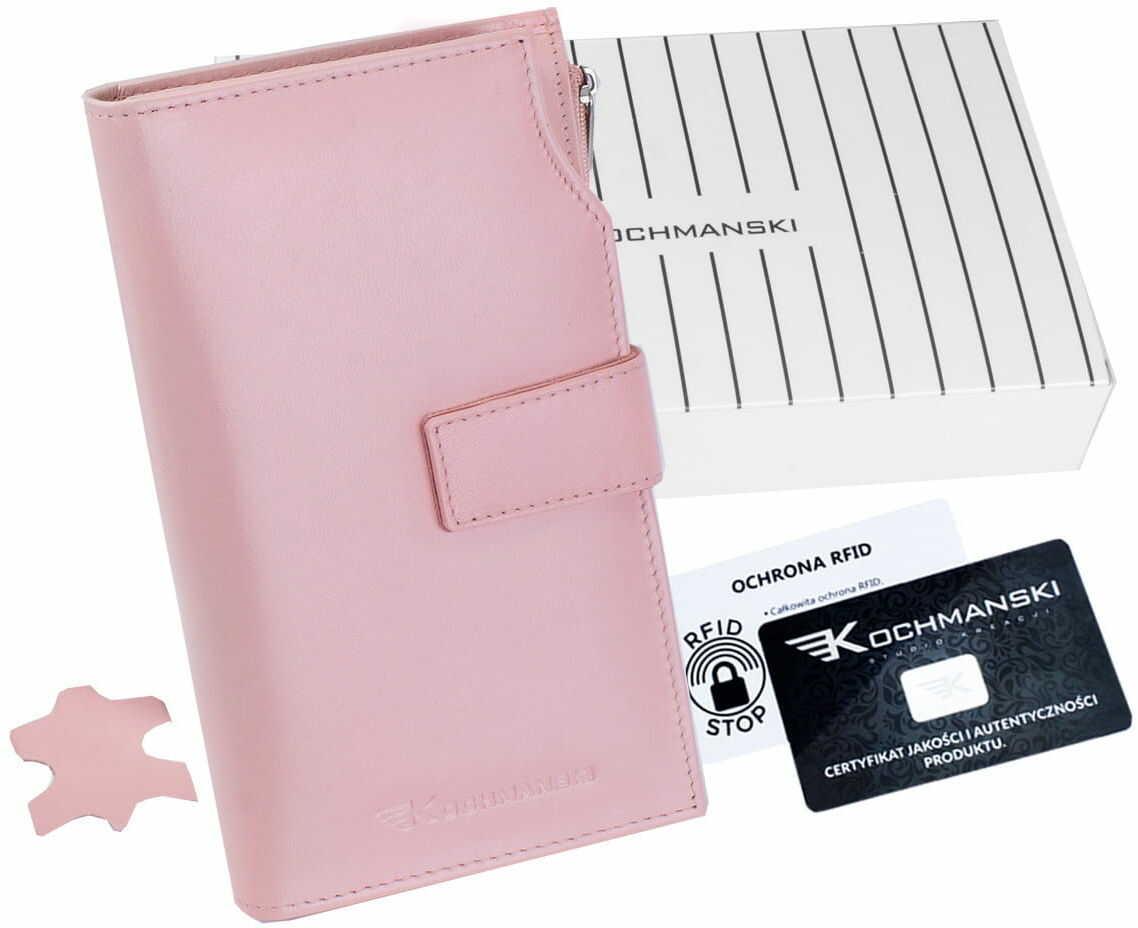 KOCHMANSKI portfel damski skórzany XXL 4387