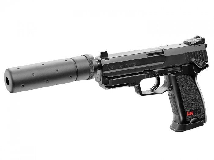 Replika pistolet ASG Heckler&Koch USP Tactical czarny 6mm