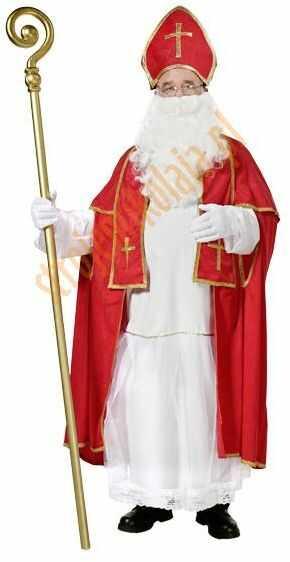 Strój świętego Mikołaja biskupa (strój prawdziwego Mikołaja) - model 2