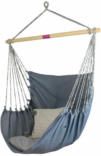 Fotel hamakowy, jeans HC9-312 Jeans