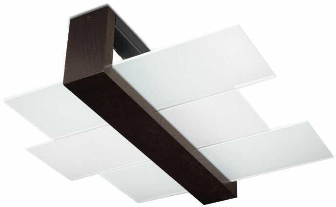 Plafon FENIKS 2 wenge SL.0074 - Sollux  Skorzystaj z kuponu -10% -KOD: OKAZJA