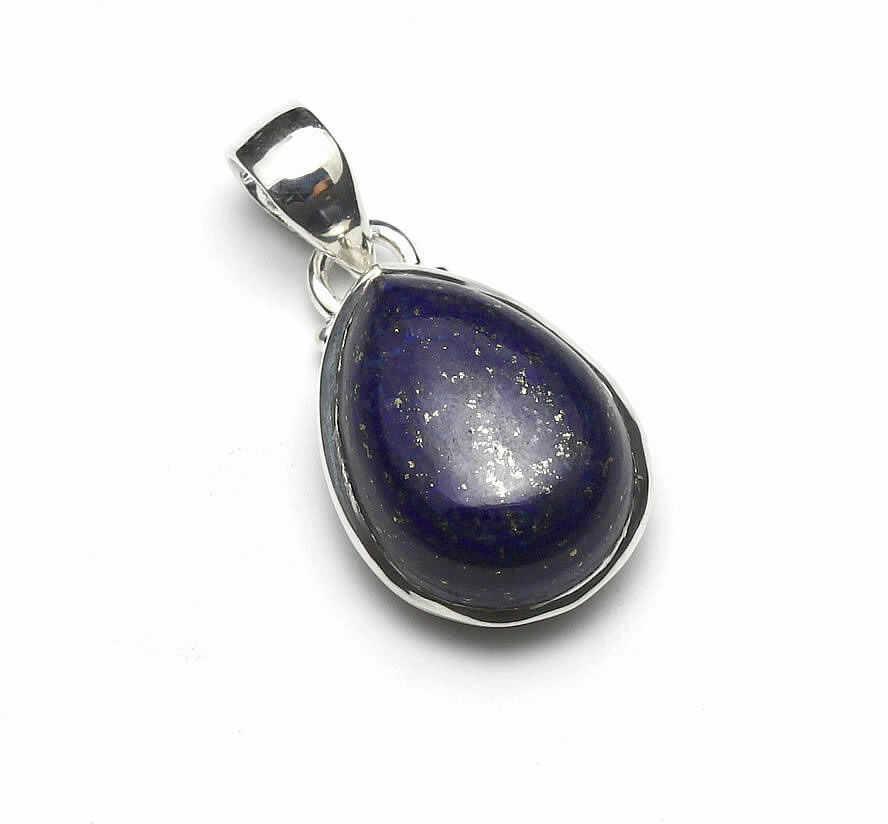 Kuźnia Srebra - Zawieszka srebrna, 30mm, Lapis Lazuli, 6g, model