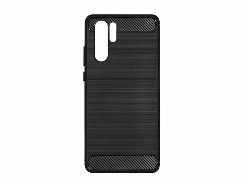 Huawei P30 Pro - etui na telefon Forcell Carbon - czarny