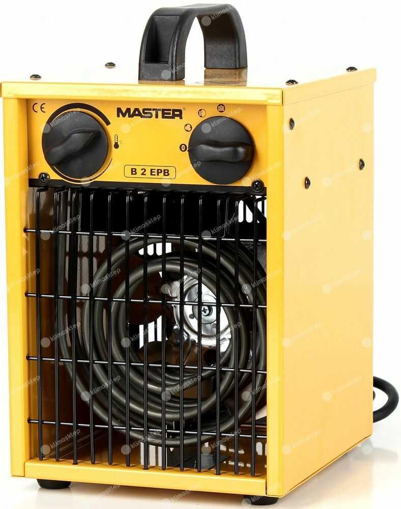 Nagrzewnica elektryczna Master B 2 EPB - dmuchawa elektryczna