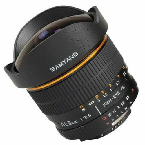 Samyang 8mm F3.5 Sony Fish-eye E-System VG-10/20/30 Edition