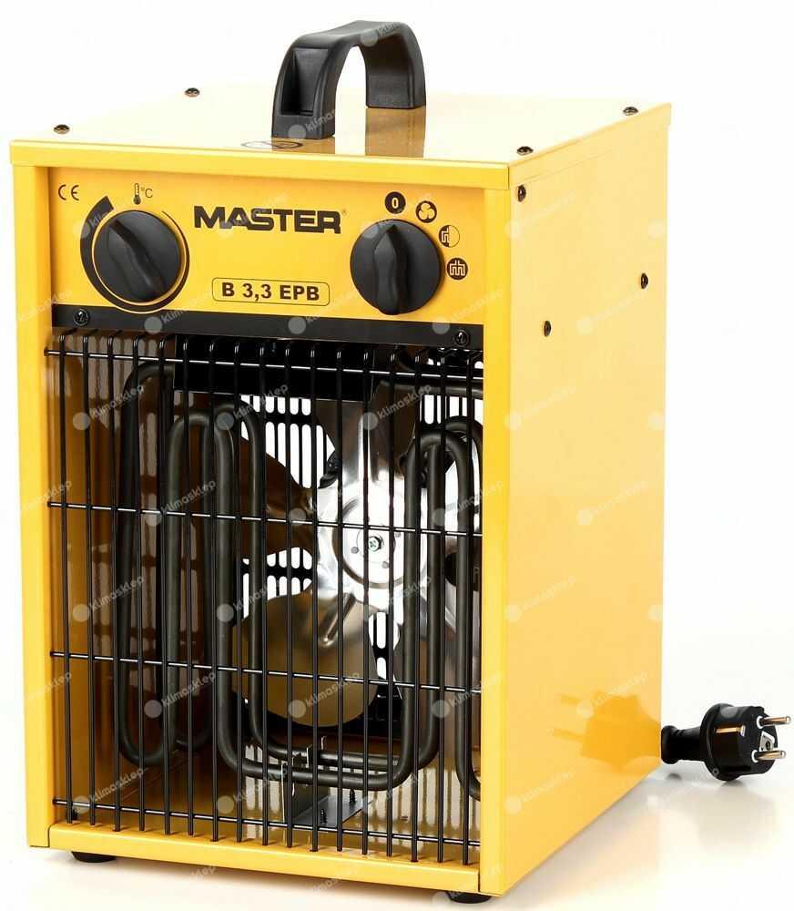 Nagrzewnica elektryczna Master B 3,3 EPB - dmuchawa elektryczna