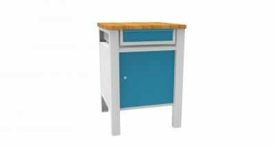 Metalowy stół warsztatowy slusarski STW311 60cm