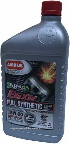Olej silnikowy 5W-20 Elixir Full Synthetic AMALIE 0,946l