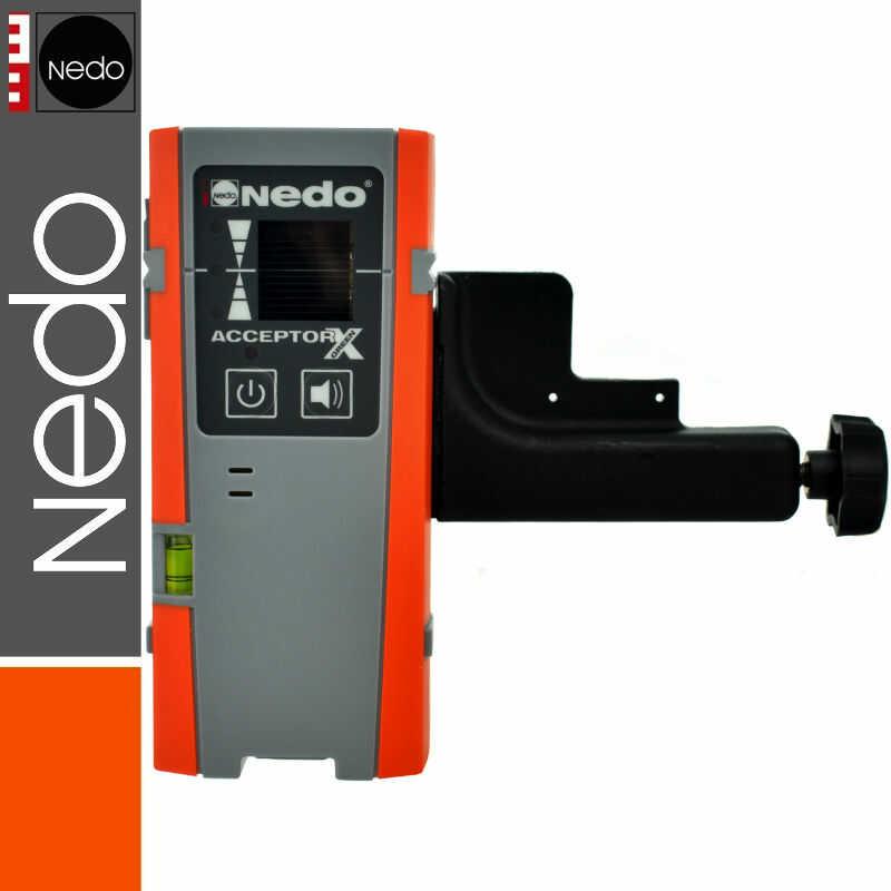 Detektor laserowy ACCEPTOR X Green NEDO