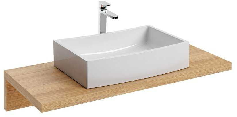 Ravak Blat po umywalkę L 1000 dąb X000000834
