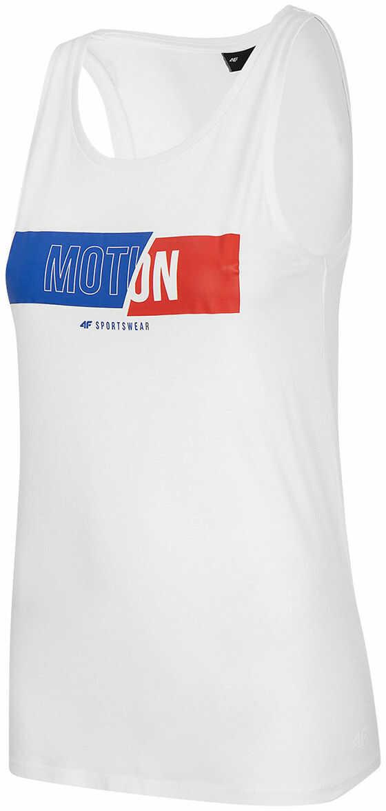 Koszulka damska 4F TSD018 - biała (H4L20 TSD018 10S)