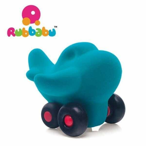 Samolot sensoryczny turkusowy - Rubbabu