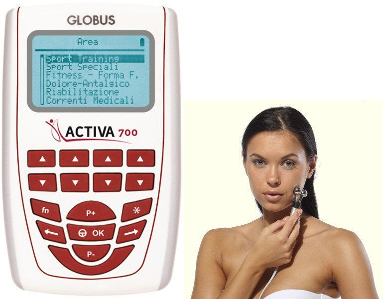 Elektrostymulator 4-kanałowy Globus ACTIVA 700 (TENS+EMS+MIC)