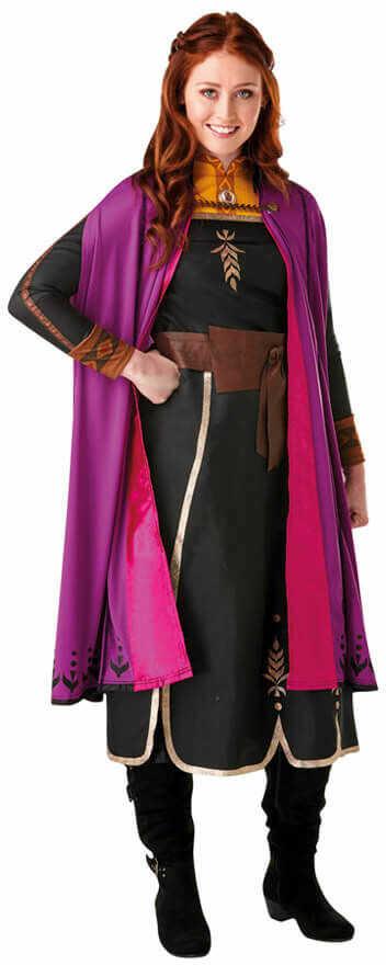 Kostium Frozen 2 Anna dla kobiety - Roz. XS