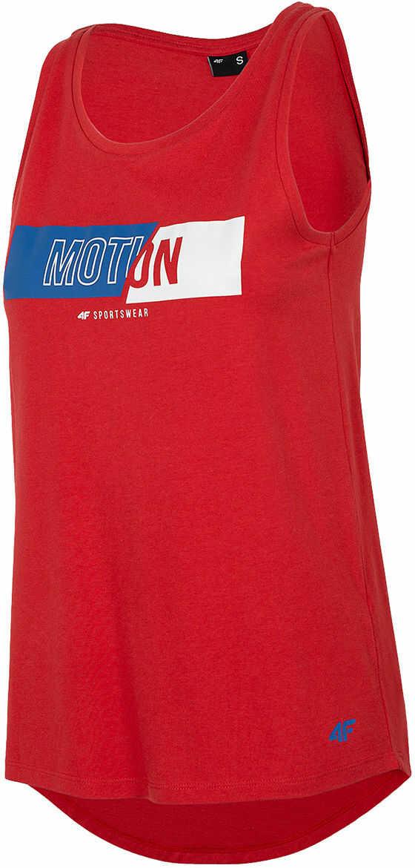 Koszulka damska 4F TSD018 - czerwona (H4L20 TSD018 62S)