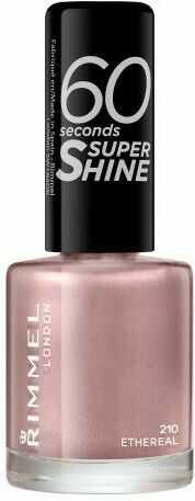 Rimmel London 60 Seconds Super Shine lakier do paznokci 8 ml dla kobiet 210 Ethereal
